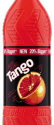 tango blood orange bottles