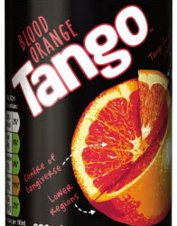 tango blood orange cans